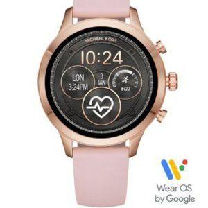 MK Unisex Runway watch with Pink Silicone Strap